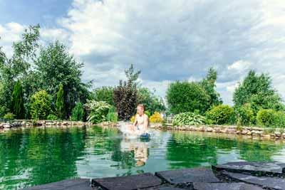 schwimmteich stock - Home