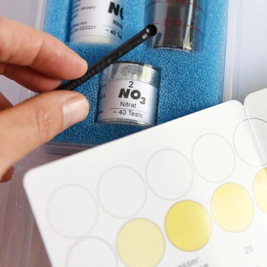 Nitrat-Test für Teiche